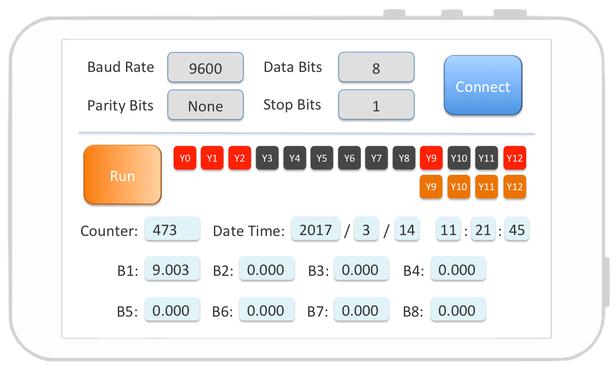 Modbus RTU 通訊協定控制 PLC – App 實驗室